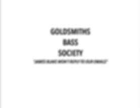 Goldsmiths Bass Society