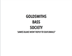 Goldsmiths Bass Society