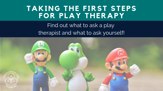 Houston Counseling, Play Therapy, Personal Growth, Child Counseling