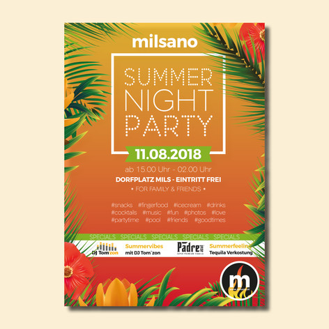 milsano Summer Night Party