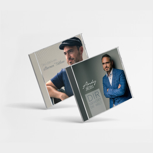 ANDY JACOBS: CD Produktionen