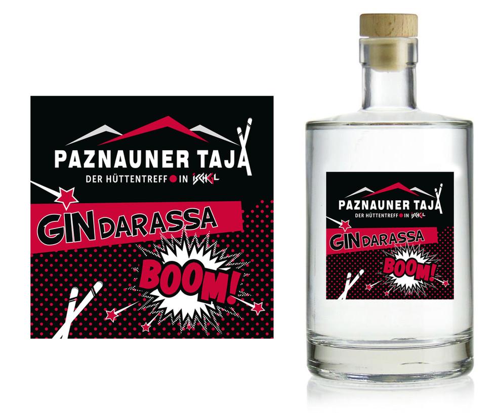 Paznauner Taja - GIN Etikett