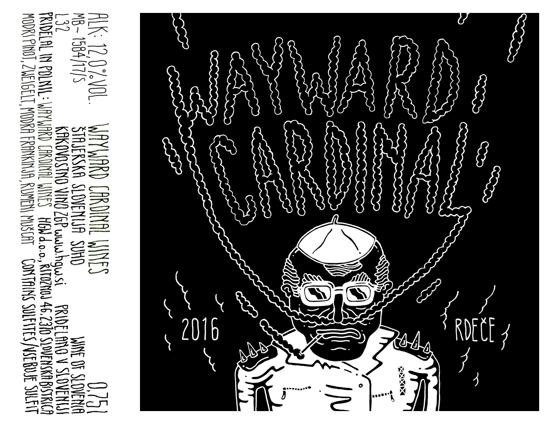 Wayward Cardinal Rdeče