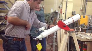 Montering SSVI telescoop