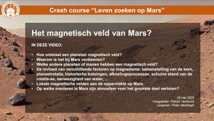 Het magnetisch veld van Mars? (21min)