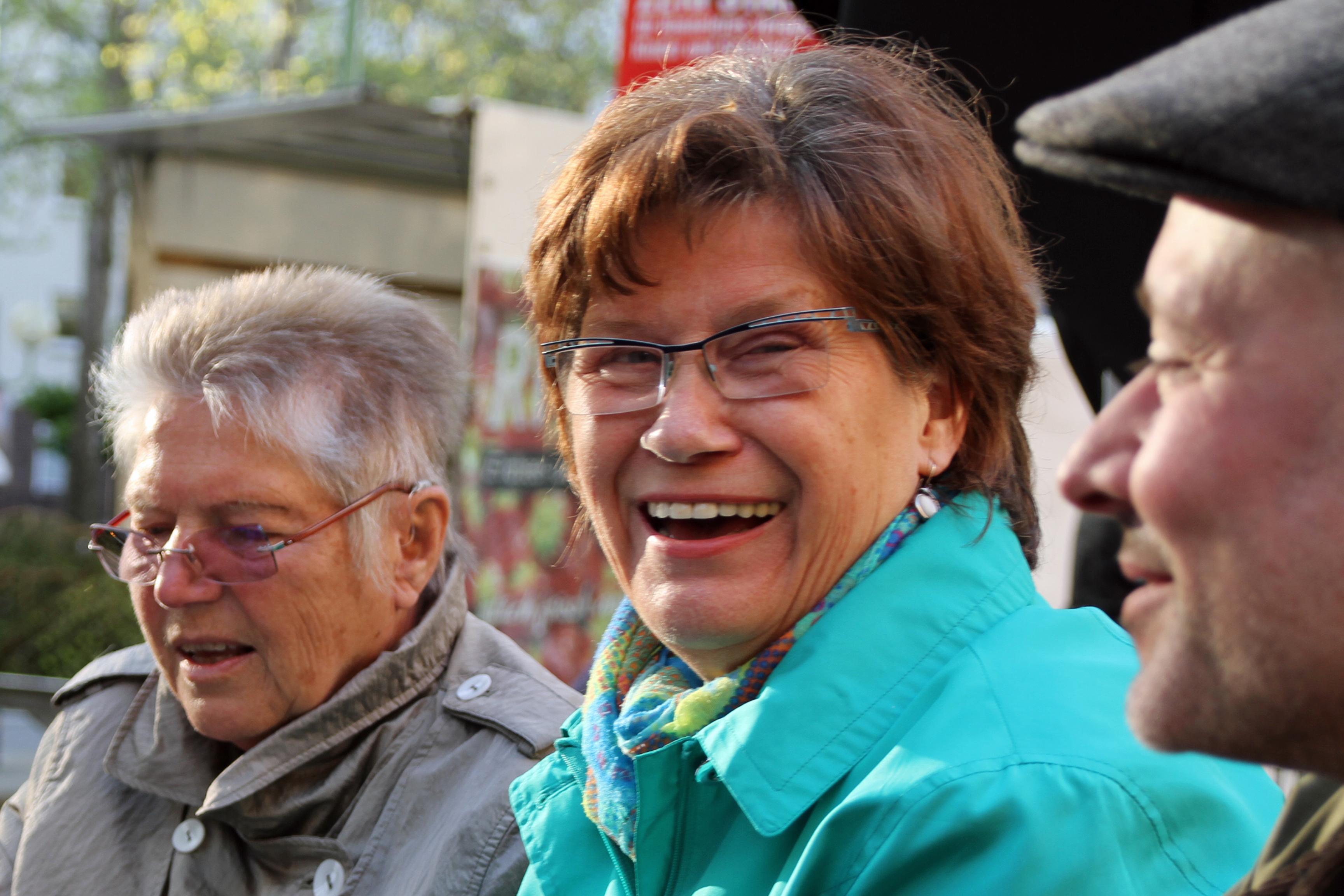 Birgit, Rita und Raoul