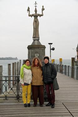 Stefanie, Erika und Edith