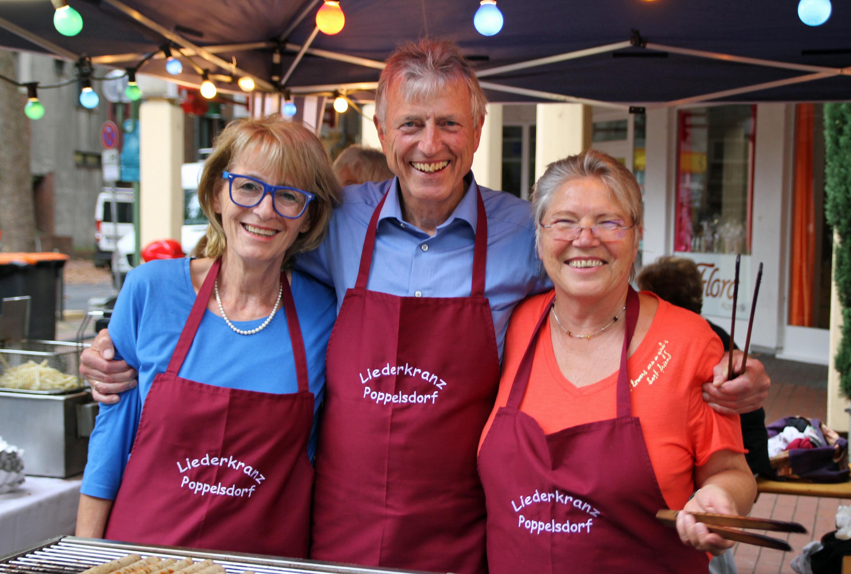 Antje, Horst und Christa