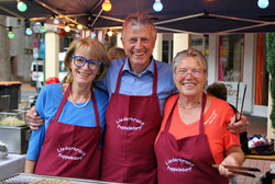 Antje, Horst und Birgit