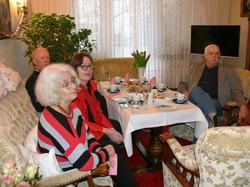 Almut, Anita, Matthias und Horst