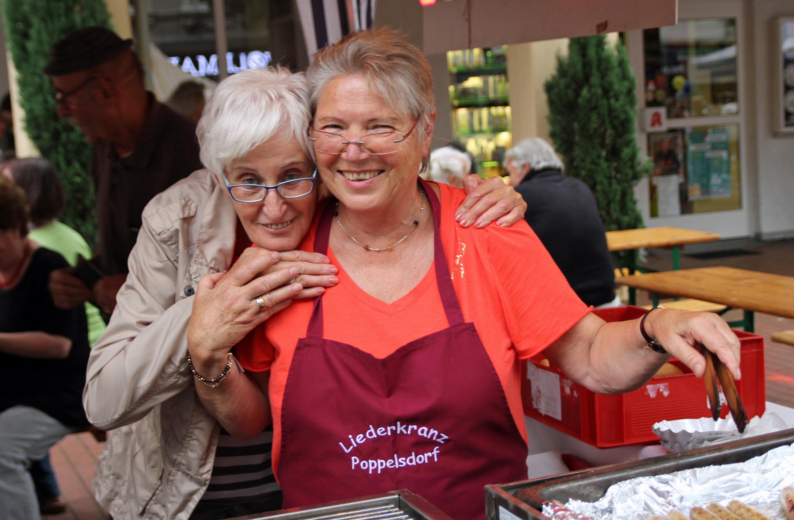 Inge und Birgit ...