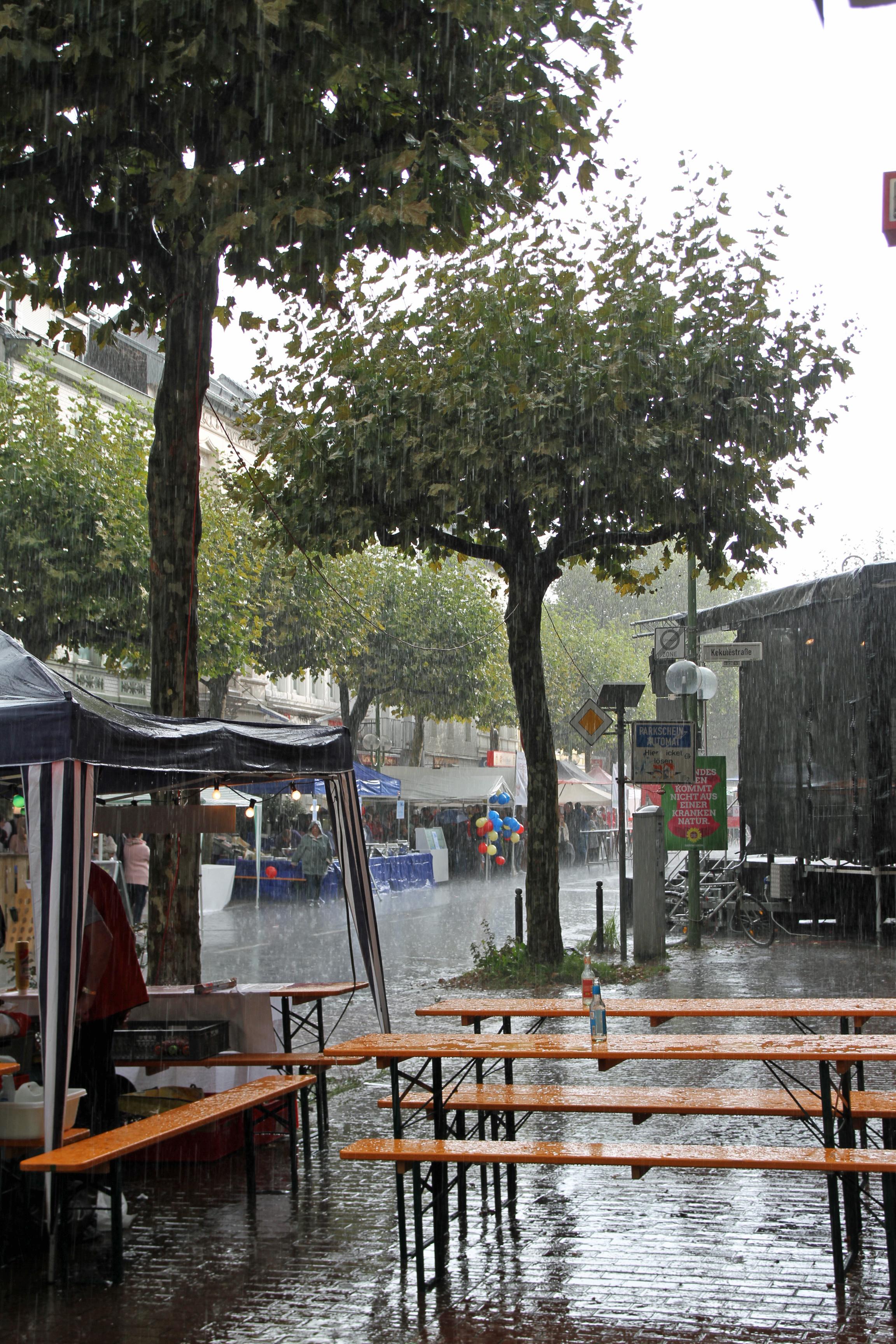 Auweia ... bisschen nass gerade