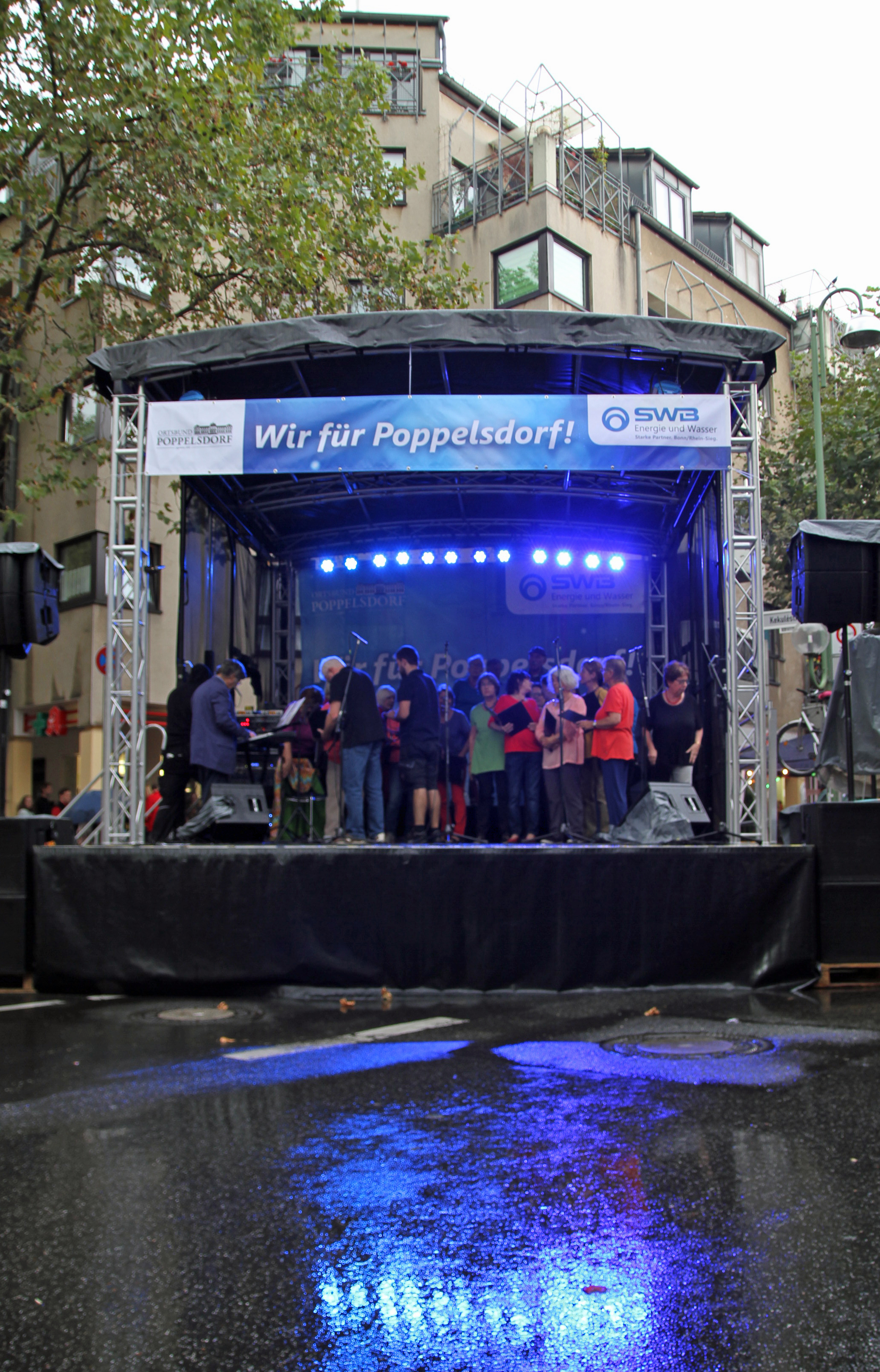 16:15 Uhr in Poppelsdorf: Regen
