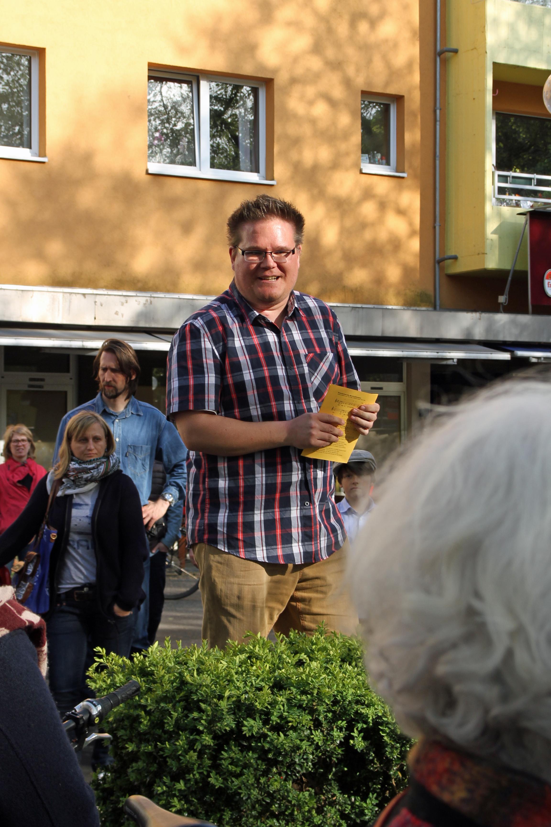 Christian Steins von der CDU