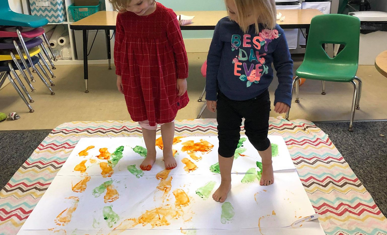 Art Time in the Toddler Program