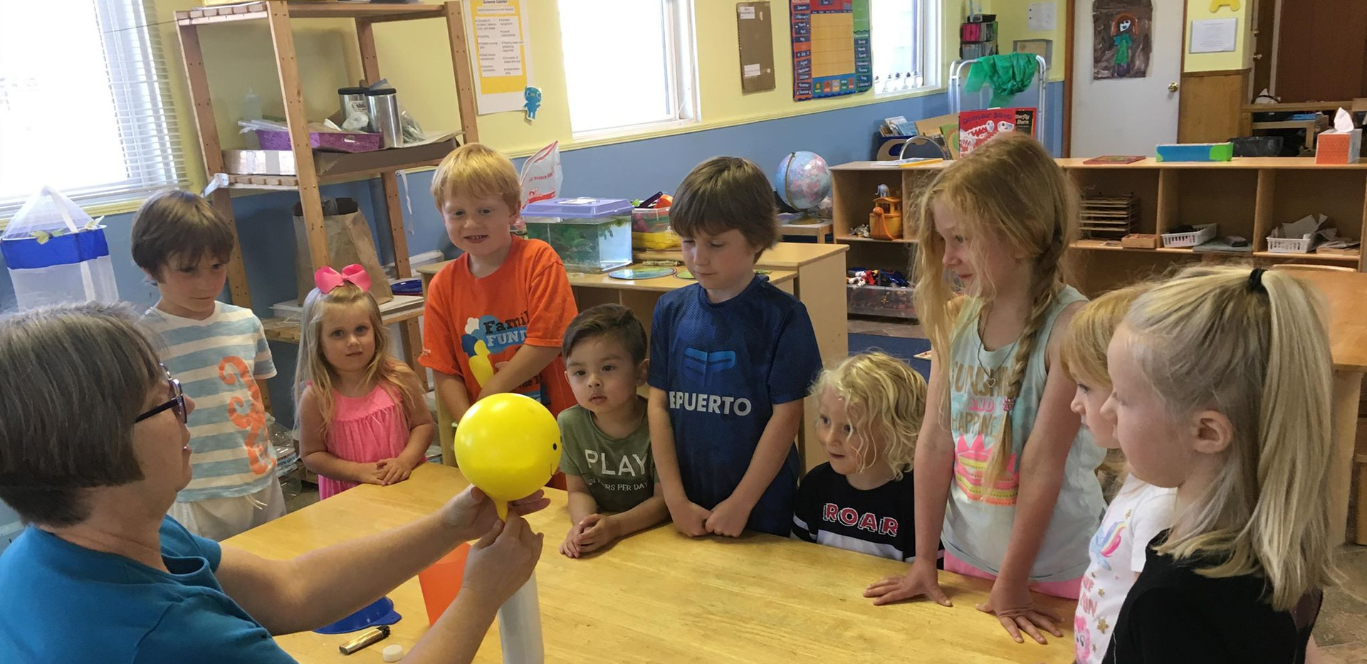 Science Week in Preschool