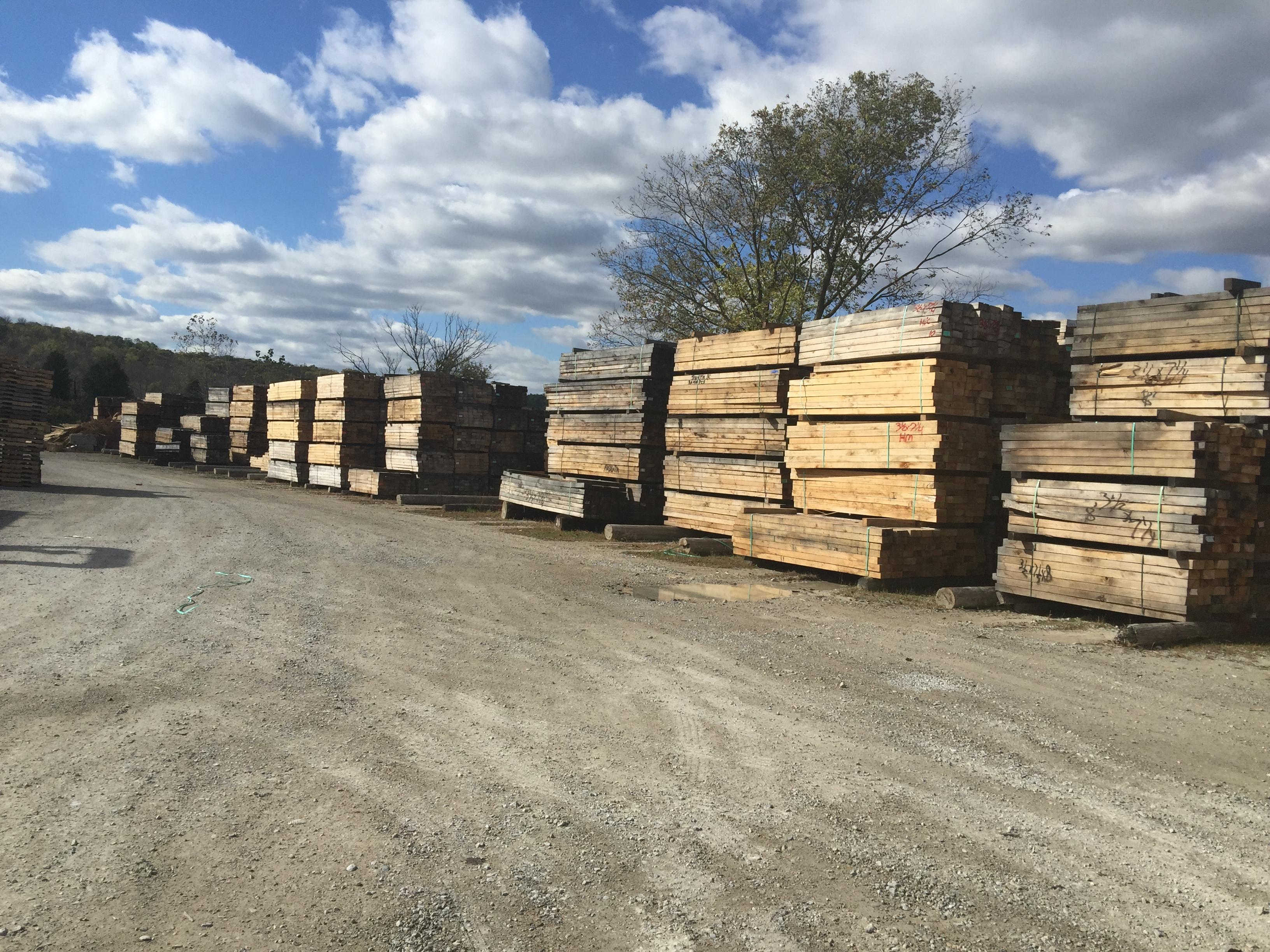 Hardwood Cants