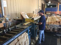Lumber Cutting Station