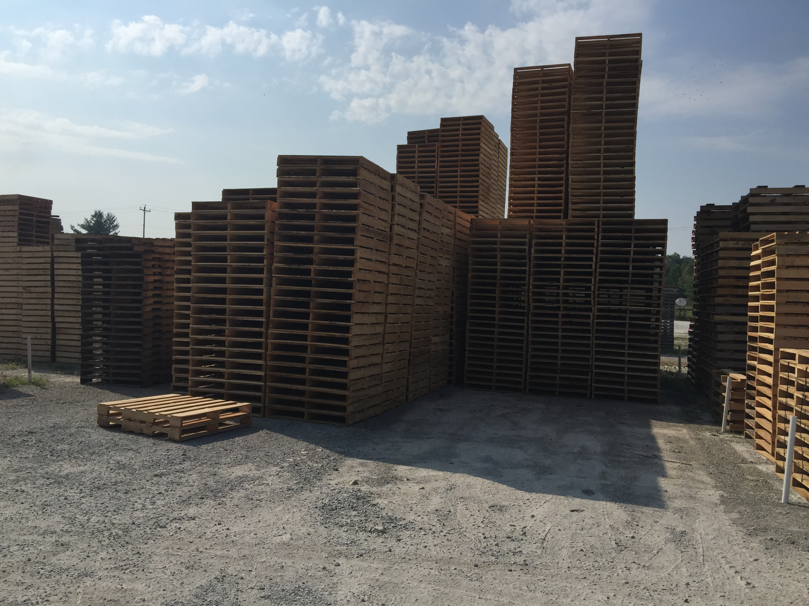 Make & Hold Pallet Inventory