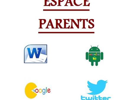 """Création d'un Point """"Espace Parents"""" avec un ordinateur au lycée :"""