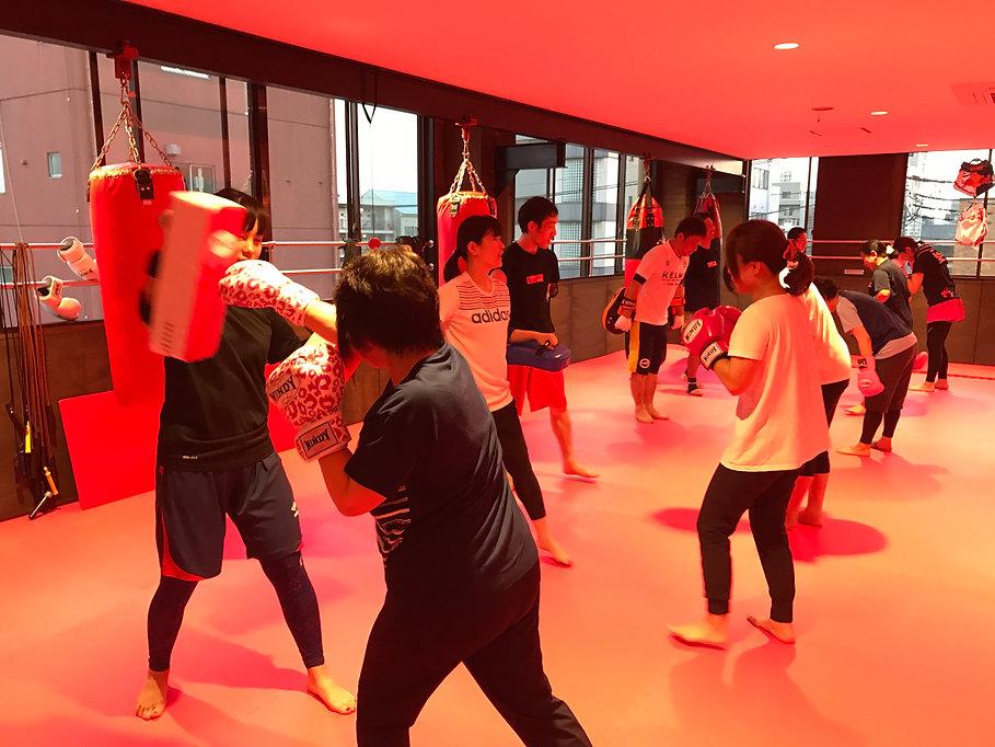 水戸 キックボクシングジム K CRONY エクササイズ ダイエット フィットネス キッズ子供向け 女性・初心者歓迎