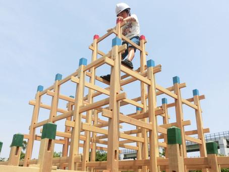 【アクティビティ】木製ジャングルジム ワークショップ