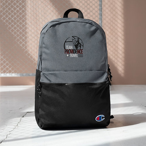 Team Providence Travel Backpacks - Embroidered Champion Backpack