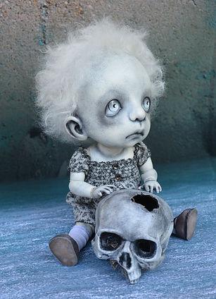 Gothic Art Doll BJD by Dark Alley Dolls