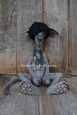 Dark Alley Cat Ozzy
