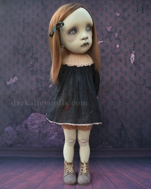 Ruby 1/6. Gothic BJD Artist Doll