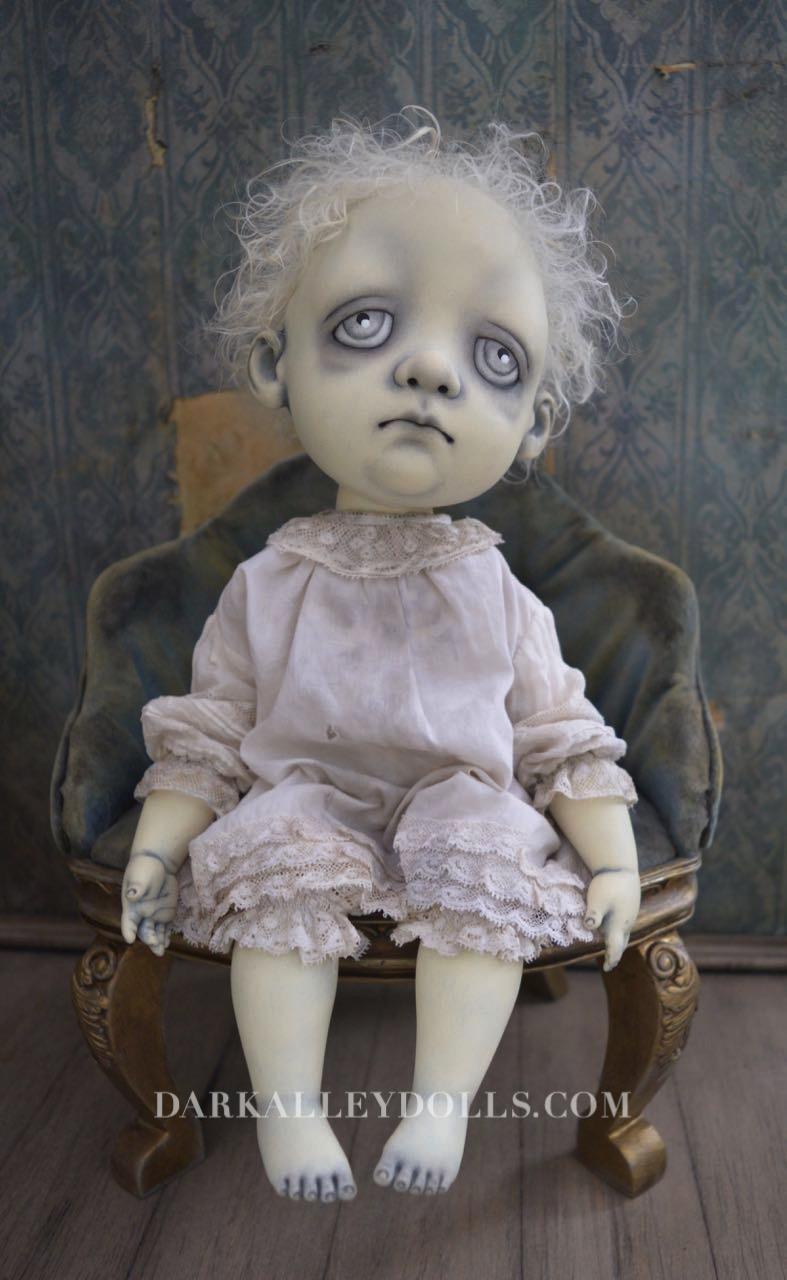 OOAK Art Doll Little Boy Louis