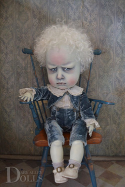 Brahms. OOAK Art Doll