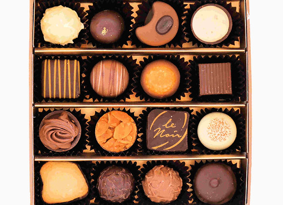 Gift Box of 16 Assorted Pralines & Truffles