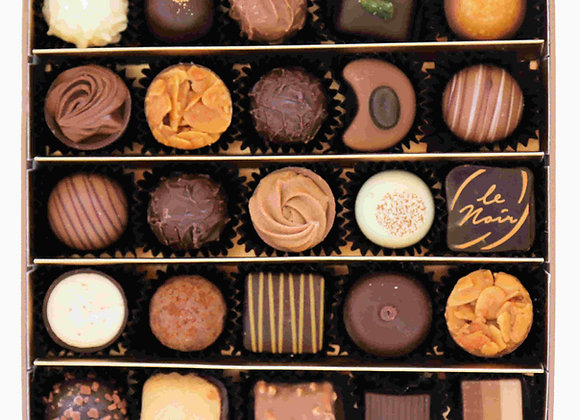 Gift Box of 25 Assorted Pralines & Truffles