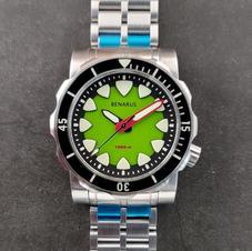 kawa green no date sapphire bezel 7.jp