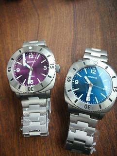 Moray 47 sunray purple vs blue numbers .