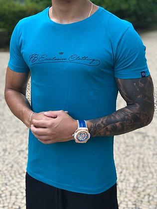 Camiseta Signature Basic Azul Cancun