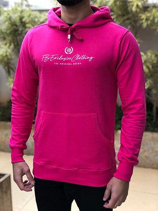 Blusa Moletom Signature Pink