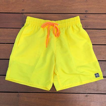 Shorts Neon Yellow