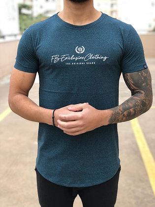 Camiseta Original Basic Azul Rajado