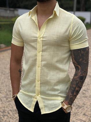 Camisa Curta Flamê Amarela