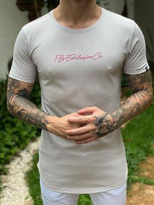 Camiseta Signature Co. Prata