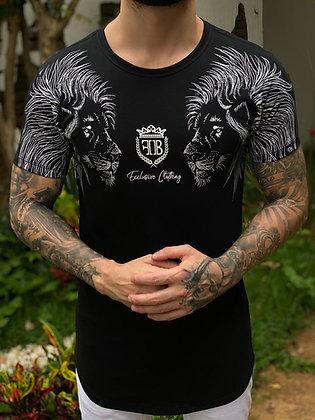 Camiseta Lion Preta