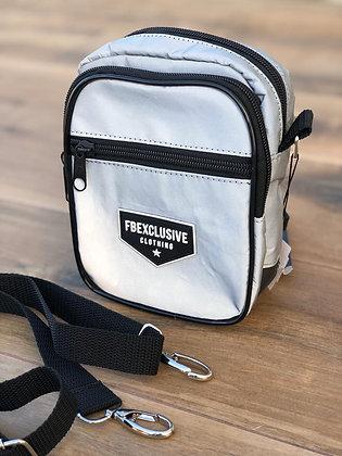 Shoulder Bag Refletiva Cinza
