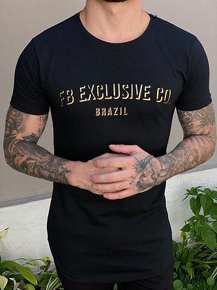 Camiseta FB Exclusive Co. Preta
