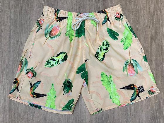Shorts Arara Salmão