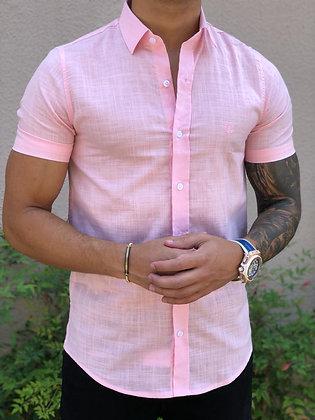 Camisa Flamê Rosa Bebê