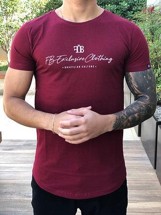Camiseta Culture Bordô