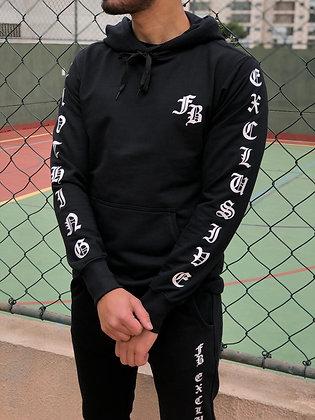 Blusa Moletom Gothic Black