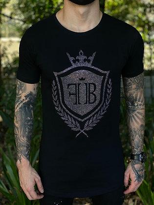Camiseta  Brasão Strass